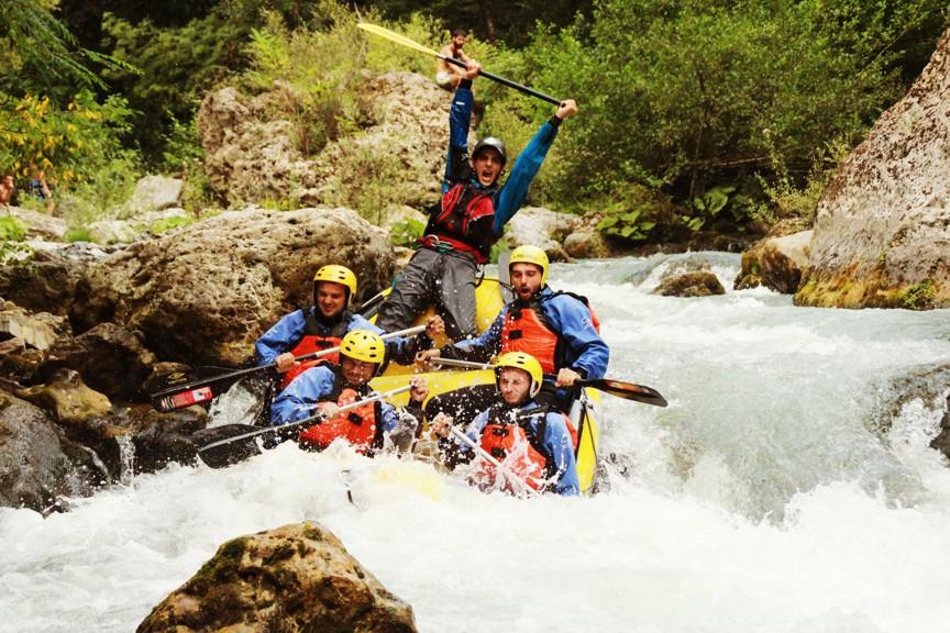 Rafting: Le Gole del Lao – Il Grand Canyon d'Europa € 55,00 a persona (dettagli)